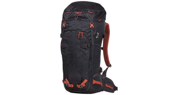 Bergans Helium PRO 40 Backpack Solid Charcoal/Koi Orange